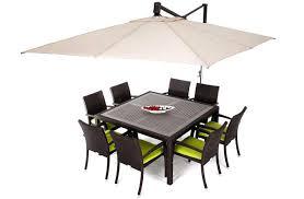 Patio Umbrella Fabric by Patio Umbrella With Sunbrella Fabric Fully Automatic 9 Foot Patio