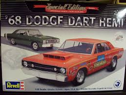 68 dodge dart parts 68 dodge hemi dart 1 25 scale 2 n 1 from revell models 854217