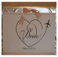 travel box images Bride plane heart travel box jpg