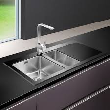 Black Glass Kitchen Sinks Black Glass Kitchen Sink Reviews Sink Ideas