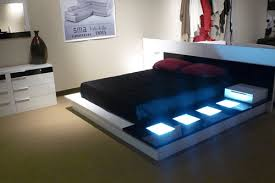 Led Bed Frame Modrest Impera Platform Led Bed