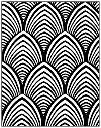 art deco pattern coloring page style n 4 from the gallery