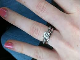 plain wedding rings can i see your micropave e rings paired with plain wedding