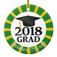 2018 graduation ornaments keepsake ornaments zazzle