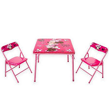 minnie mouse table set minnie mouse first fashionista activity table set bed bath beyond