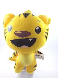 ni hao kai lan 6 rintoo the tiger beanbag plush ty stuffed animal