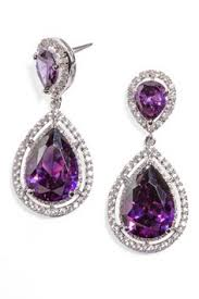 purple earrings best wedding purple earrings photos 2017 blue maize