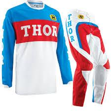 thor motocross gear thor phase 2015 gp pro blue red motocross enduro quad dirt bike