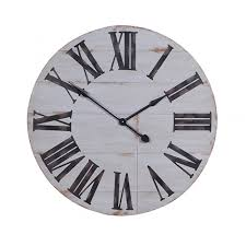 oversized grey wall clock in clocks