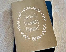 personalized wedding planner wedding planner book notebook wedding planner organizer