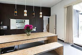 cuisine osb materiau tendance zoom sur le bois osb blueberry home