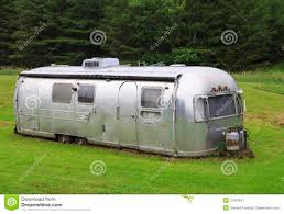 vintage airstream travel trailer editorial photo image 31963641