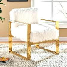 fur chair cover fuzzy office chair cover white desk chair faux fur desk