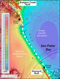 Fault Line Map Mystery Gap Connecting Earthquake Faults Near San Francisco