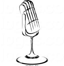 retro martini clip art retro microphone clip art 32