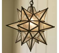 Pottery Barn Dining Room Lighting by Olivia Indoor Outdoor Star Pendant Pottery Barn