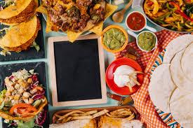 cuisine mexicaine cuisine mexicaine traditionnelle et tableau noir télécharger des
