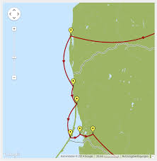 Create A Route On Google Maps by Javascript Curved Line Between Two Near Points In Google Maps
