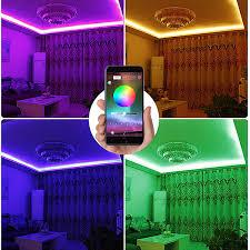 music led strip lights ac110v 750w wifi buletooth music rf wireless high voltage rgb
