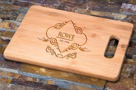 personalized engraved cutting board monogrammed cutting board personalized cutting board glass custom