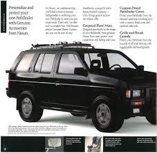 nissan pathfinder black 1990 nissan pathfinder dealer brochure nicoclub