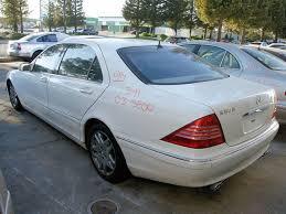 2003 mercedes s500 2003 mercedes s500 w220 parts car stock 005191