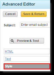 guidelines for designing custom html email campaigns