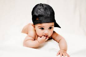 cute baby boy profile pictures dp for facebook wearing cap anda