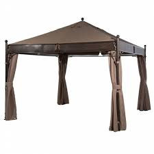 12x12 Patio Gazebo Abba Patio 12 X 12 Ft Outdoor Steel Frame Garden Canopy