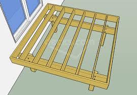 How To Attach A Pergola To A Deck by Decks Com Framing Parallel To The House