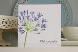 sympathy card with sympathy card