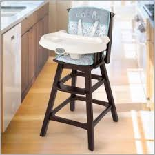 Wooden Doll High Chair Baby Doll High Chair Attached Table Chairs Home Decorating