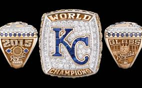 take a look at the royals u0027 world series championship rings the