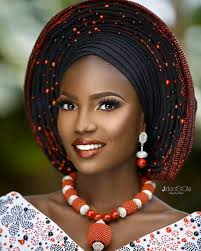 african make and asooke hair styles burnt orange aso oke aso oke pinterest aso africans and