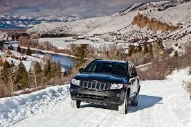 jeep snow wallpaper spied 2014 jeep compass patriot test mule