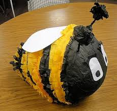 bumble bee pinata 15 bee crafts about family crafts
