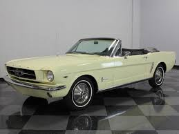 1965 yellow mustang yellow 1965 ford mustang for sale mcg marketplace