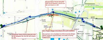 Mercer University Map Think The Uw Trail Detour Is Bad City Light Work Could Detour