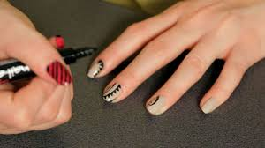 how to do a tattoo nail art design howcast the best how to