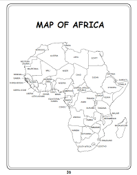 africa map black and white white headed vulture vulpro kid s corner
