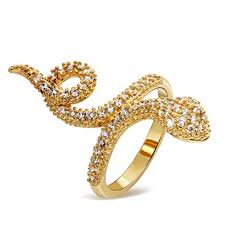 gold nice rings images Psrings snake ring nice rings girls k gold plated with jpg