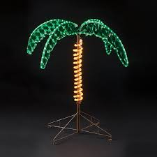 Lighted Tree Home Decor Light Up Palm Tree Gardens And Landscapings Decoration