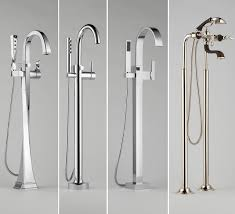 free standing bathtub faucet floor mounted tub filler model latest farmhouse design and furniture