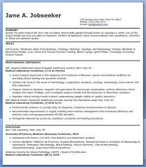 Laser Technician Resume Medical Assistant Resume Examples And On Pinterest Regarding For