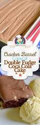 copycat cracker barrel double fudge coca cola cake recipe coca
