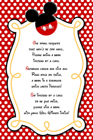 How To Make Minnie Mouse Invitation Cards Great Idea For The Guests Hayden U0027s First Birthday Mickey Mouse