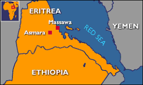 africa map eritrea news africa and eritrea embroiled in border row