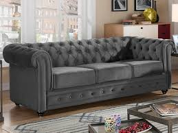 canap chesterfield velour canapé chesterfield velours