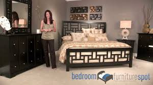 broyhill bedroom set broyhill perspectives modern bedroom set youtube