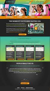 website homepage design fitness studio web design btone fitness boston patientmoon